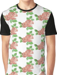 Pastel Petals Graphic T-Shirt