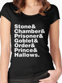 ⚡ HARRY POTTER ⚡ Women's Fitted Scoop T-Shirt