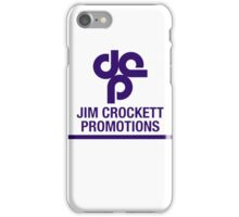 Jim Crockett Promotions Logo iPhone Case/Skin
