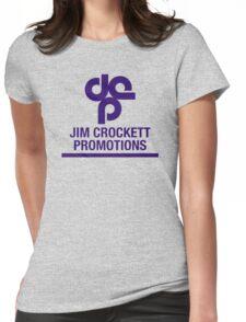 Jim Crockett Promotions Logo Womens Fitted T-Shirt