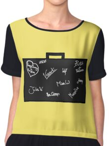 Pulp Fiction Chiffon Top