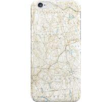 USGS TOPO Map Connecticut CT Gilead 331029 1892 62500 iPhone Case/Skin
