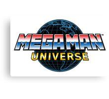 Mega Man Universe Logo Canvas Print