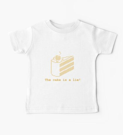 The cake is a lie! (fanart) Baby Tee