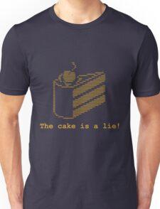 The cake is a lie! (fanart) Unisex T-Shirt