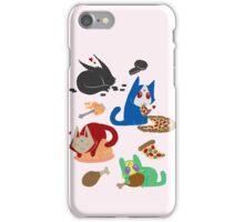 Nyamen Rider Snacks iPhone Case/Skin
