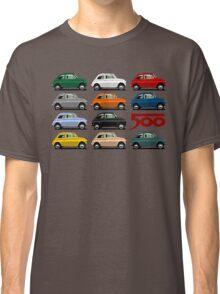 Fiat 500 side view Classic T-Shirt