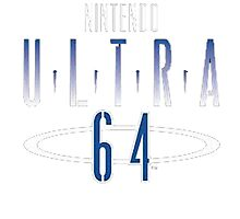 Nintendo Ultra 64 Logo Photographic Print