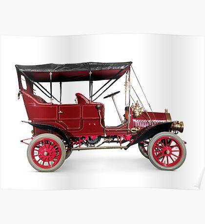 1908 McLaughlin Buick Model F vintage car art photo print Poster