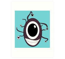 Cute Beholder - Dungeons and Dragons Art Print