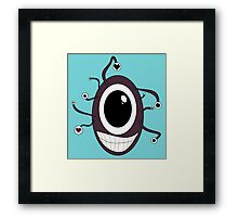 Cute Beholder - Dungeons and Dragons Framed Print