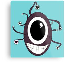 Cute Beholder - Dungeons and Dragons Metal Print