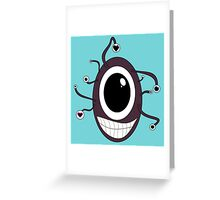 Cute Beholder - Dungeons and Dragons Greeting Card