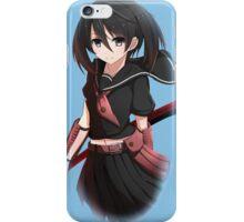 kurome looking cute iPhone Case/Skin