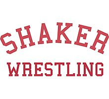 Shaker Wrestling Photographic Print