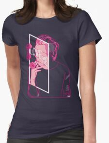 Love Me  Womens Fitted T-Shirt
