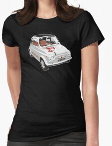 Fiat Abarth 595 Womens Fitted T-Shirt
