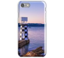 Point Halswell Lighthouse at Dusk, Wellington, NZ iPhone Case/Skin