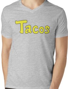 Tacos! Mens V-Neck T-Shirt