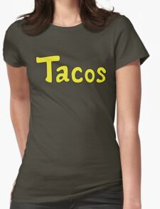 Tacos! Womens Fitted T-Shirt
