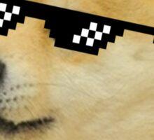 Doge With It Sticker
