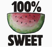 watermelon 100% sweet Baby Tee