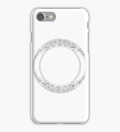 Rosace (One) iPhone Case/Skin