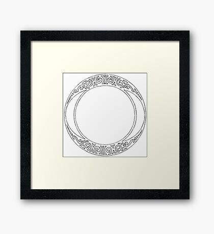 Rosace (One) Framed Print