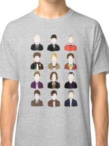 Twelve Doctors. Classic T-Shirt