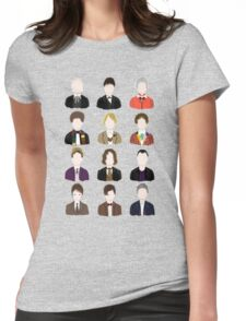 Twelve Doctors. Womens Fitted T-Shirt