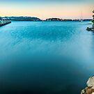 Dawn in Evans Bay, Wellington by SeeOneSoul
