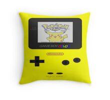 Pokemon Game Boy Throw Pillow