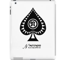 Nintendo Playing Card Company Logo iPad Case/Skin