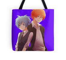 back to back AC anime Tote Bag