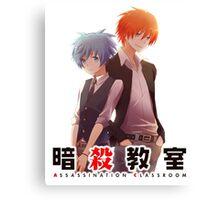 back to back AC anime Canvas Print