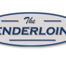 the tenderloins logo Sticker