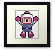 Bomberman Framed Print