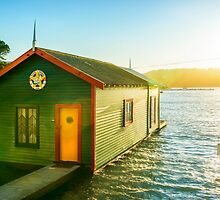 Boathouse Sunrise by SeeOneSoul