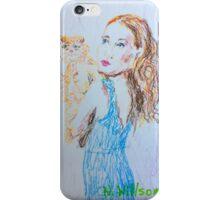 Kitty Blue iPhone Case/Skin