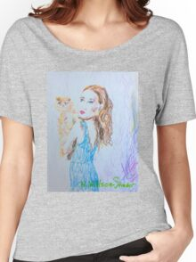 Kitty Blue Women's Relaxed Fit T-Shirt