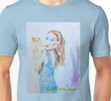 Kitty Blue Unisex T-Shirt