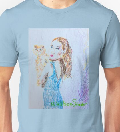Kitty Blue Unisex T-Shirt