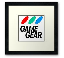 Game Gear Logo Framed Print