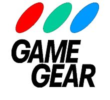 Game Gear Logo Photographic Print