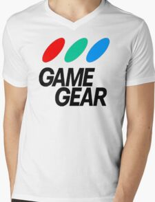Game Gear Logo Mens V-Neck T-Shirt