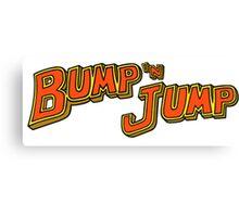 Bump 'n Jump Logo Canvas Print