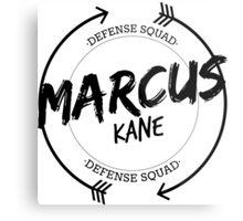MARCUS KANE DEFENSE SQUAD Metal Print
