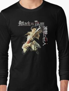 levi in full attack mode Long Sleeve T-Shirt