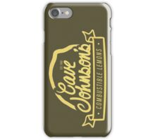 cave johnson's combustible lemons iPhone Case/Skin