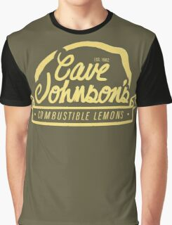 cave johnson's combustible lemons Graphic T-Shirt
